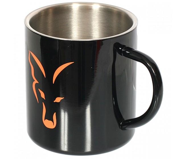 Стоманена чаша FOX STAINLESS STEEL MUG | www.CARPMOJO.com