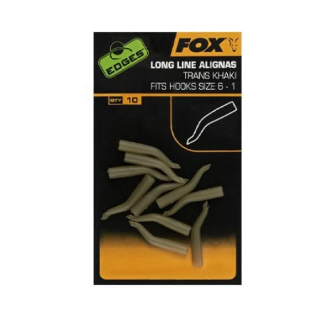 Алайнер Fox Edges Line Alignas Trans Khaki – Short, 10 бр. | www.CARPMOJO.com