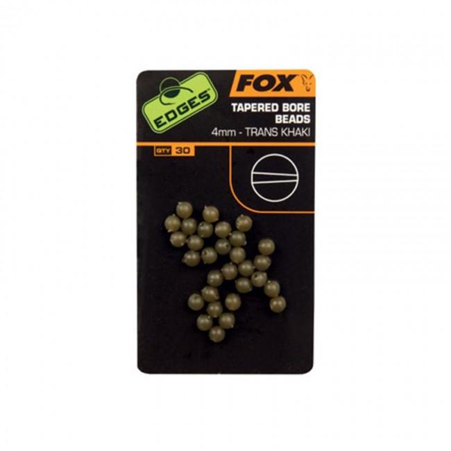 Гумени стопери/мъниста FOX EDGES Tapered Bore Beads   www.CARPMOJO.com