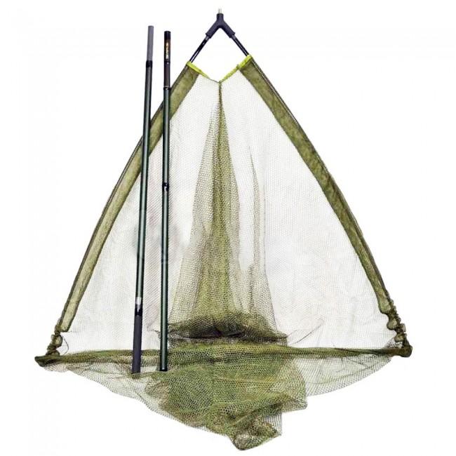 Шаранджийски кеп FL Excellent 180 см на 2 части | www.CARPMOJO.com