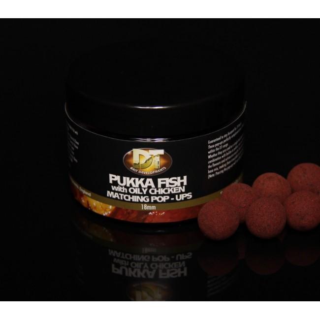 Топчета за стръв DT BAIT Pukka Fish Oily Chicken, различни варианти | www.CARPMOJO.com