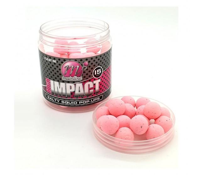 Плуващи топчета MAINLINE High Impact Pop Ups - Salty Squid 15mm | www.CARPMOJO.com