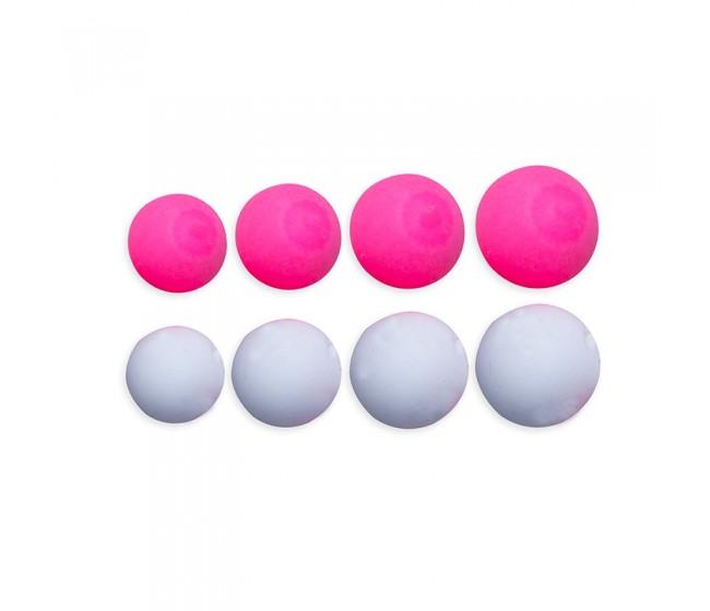 Плуващи топчета ESP Boilies Pink and White | www.CARPMOJO.com