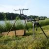 Шаранджийска стойка Prologic Tri-Sky Rod Pod за 3 или 4 въдици | www.CARPMOJO.com
