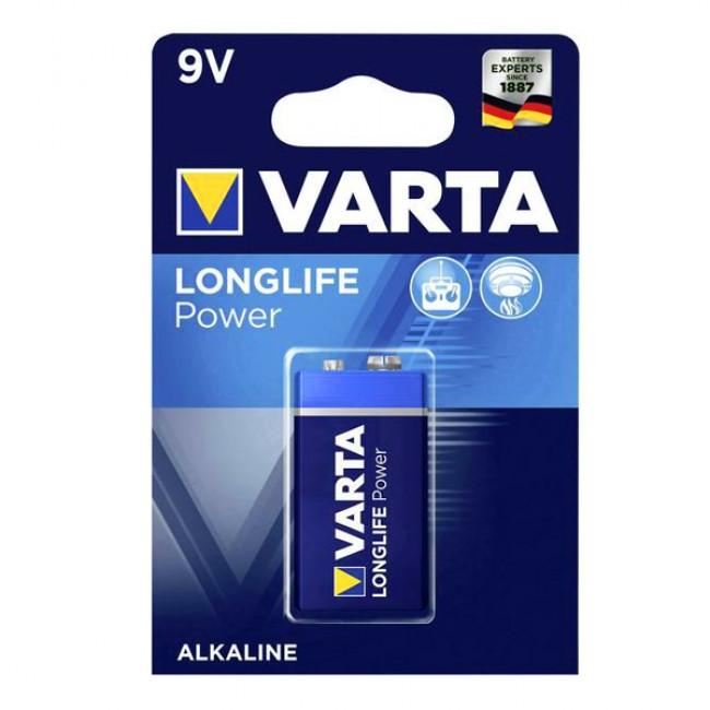 Батерия VARTA 9V high energy, 1 брой | www.CARPMOJO.com