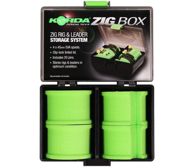 Кутия за монтажи Korda Zig Box | www.CARPMOJO.com
