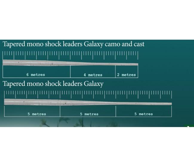 Конусен шок лидер KATRAN GALAXY, 5x15 m | www.CARPMOJO.com