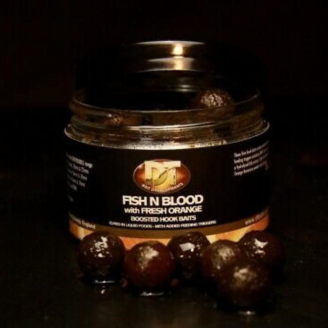 Топчета за стръв DT BAIT Fish Blood And Orange | www.CARPMOJO.com