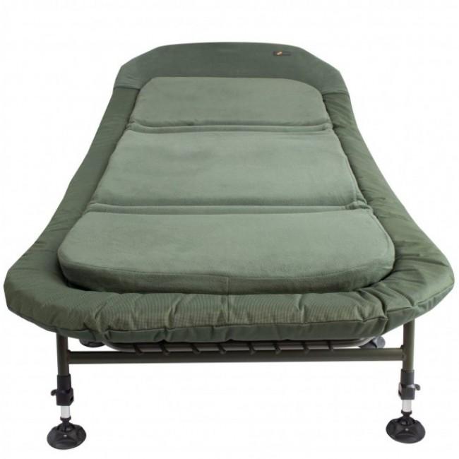 Шаранджийско легло CYPRINUS Wide Memory Foam Bedchair | www.CARPMOJO.com