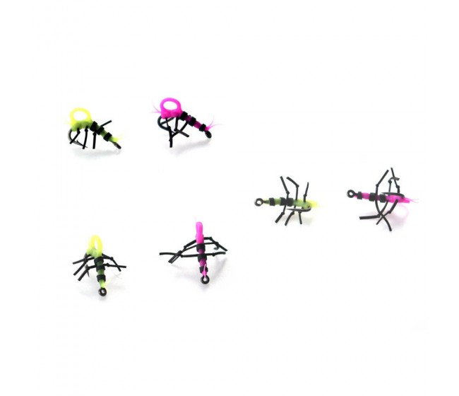 Насекоми за Зиг монтаж PB Products Zig Insects, 4 бр. с куки | www.CARPMOJO.com