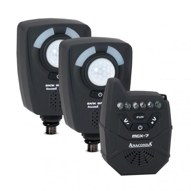 Къмпинг охрана Anaconda Nighthawk MGX-7 Bank Watcher Set | www.CARPMOJO.com