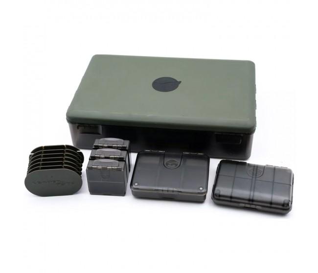 Кутия с комплект аксесоари KORDA Tackle Box Bundle   www.CARPMOJO.com