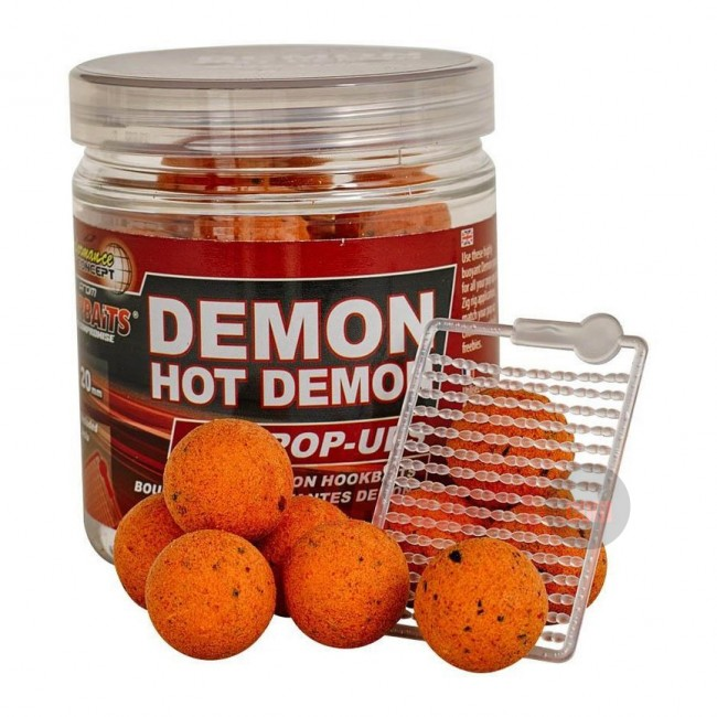 Плуващи топчета HOT DEMON POP UP - Starbaits, 14/20 mm | www.CARPMOJO.com