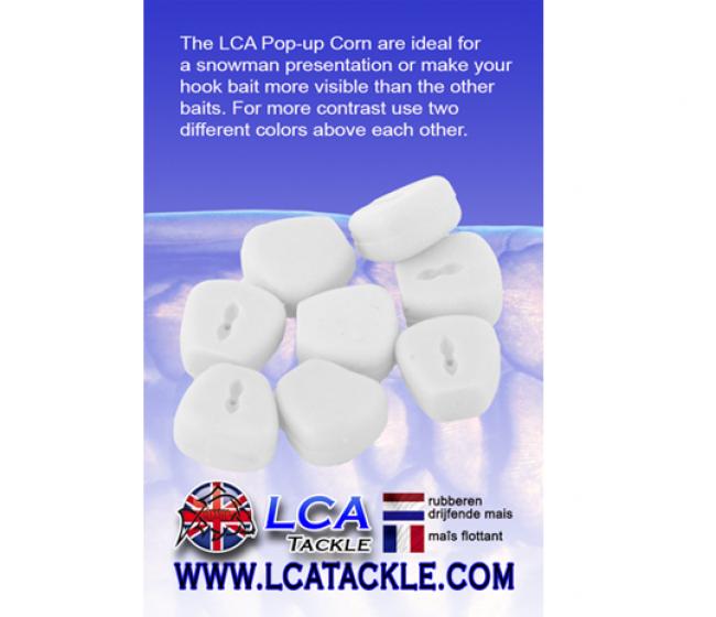 Силиконова царевица LCA, 15 броя, различни цветове | www.CARPMOJO.com