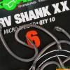 Куки KORDA KURV SHANK XX, 10 бр. | www.CARPMOJO.com