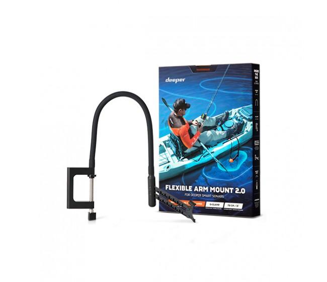 Подвижна стойка за сонар DEEPER Flexible Arm Mount 2.0 | www.CARPMOJO.com