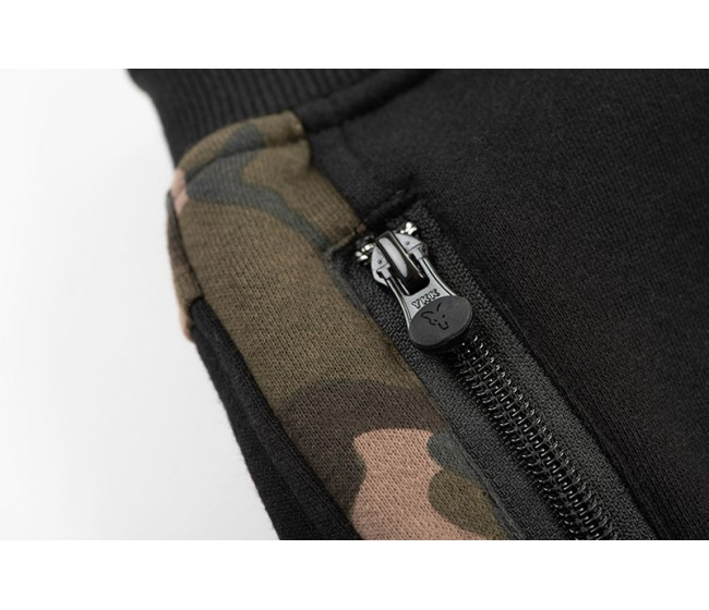 Панталон FOX BLACK/CAMO Jogger | www.CARPMOJO.com