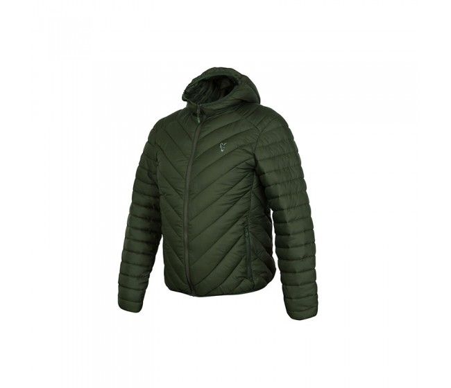 Яке FOX Collection Quilted Jacket Green/Silver | www.CARPMOJO.com