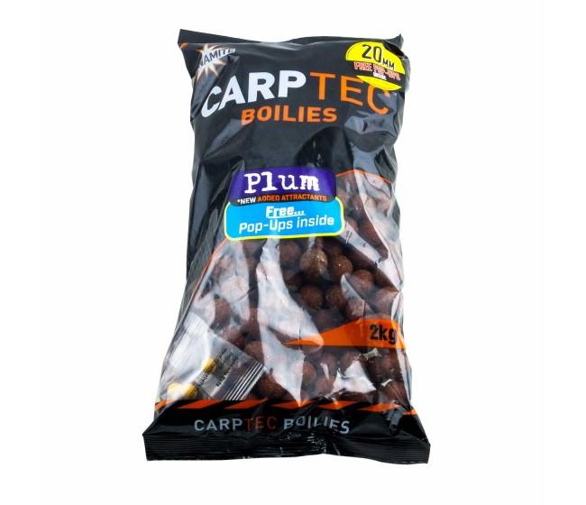 Протеинови топчета DYNAMITE Baits CarpTec Boilies PLUM, 20/15 mm, 2 kg | www.CARPMOJO.com