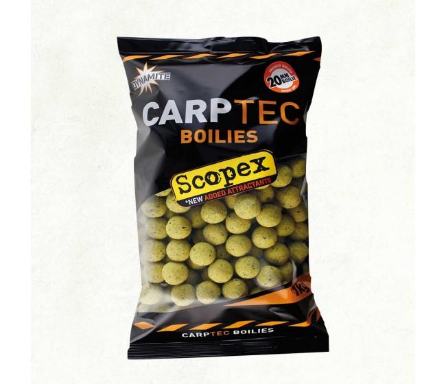 Протеинови топчета DYNAMITE Baits CarpTec Boilies SCOPEX, 20/15 mm, 2 kg | www.CARPMOJO.com