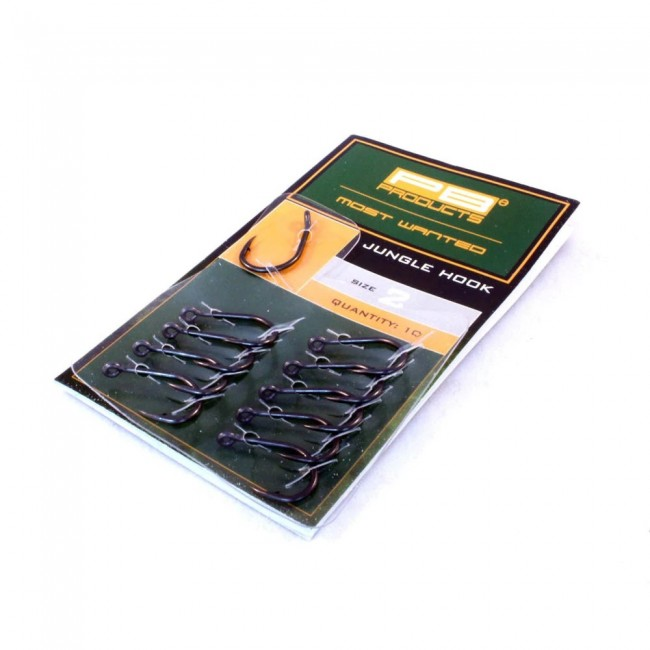 Куки PB Products Jungle Hook, 10 бр. | www.CARPMOJO.com