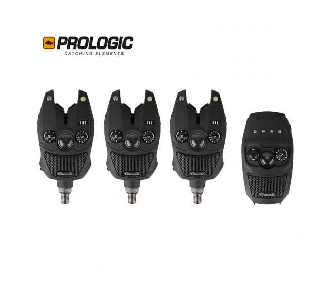 Сигнализатори  3+1 / 4+1 PROLOGIC SNZ Bite Alarm Kit | www.CARPMOJO.com