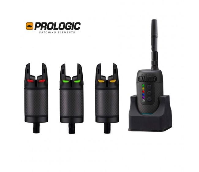 Сигнализатори 3+1 PROLOGIC K3 Bite Alarm Set 3+1 | www.CARPMOJO.com