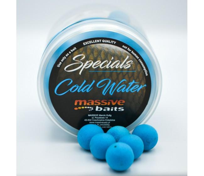 Плуващи топчета MASSIVE BAITS Pop Up COLD WATER / студена вода   www.CARPMOJO.com