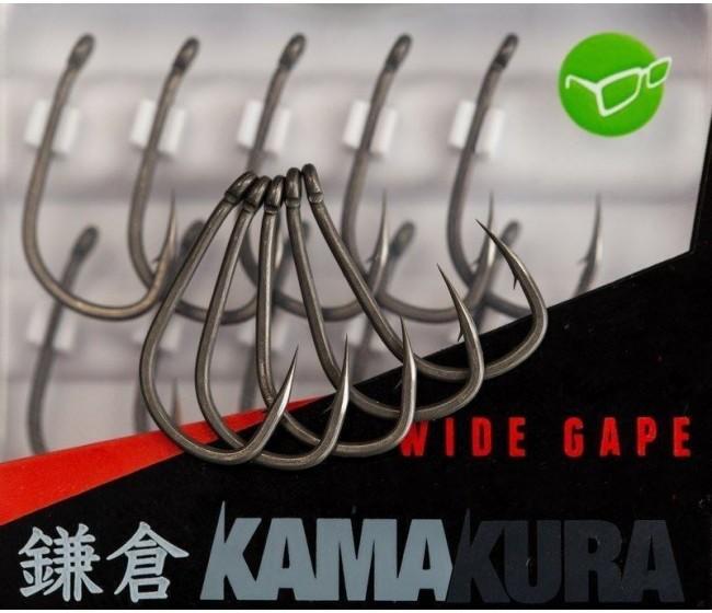 Куки Korda KAMAKURA Wide Gape, 10 бр. | www.CARPMOJO.com