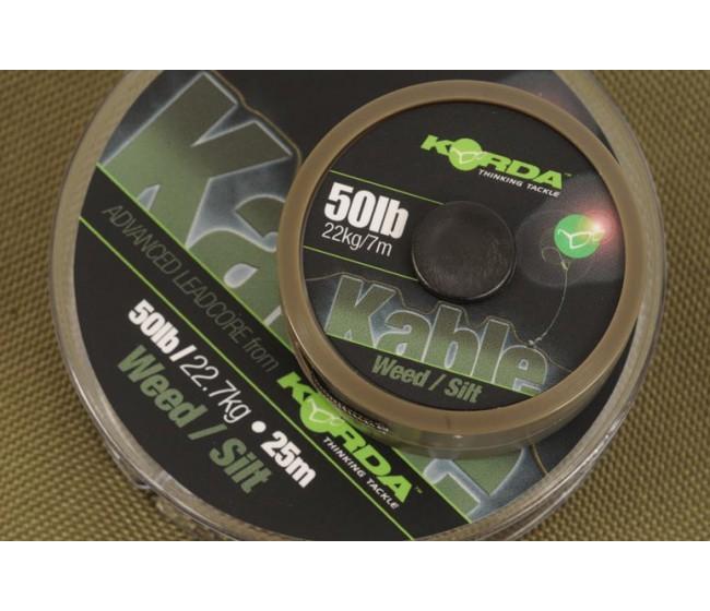 Ледкор KORDA Kable leadcore 7 m | www.CARPMOJO.com