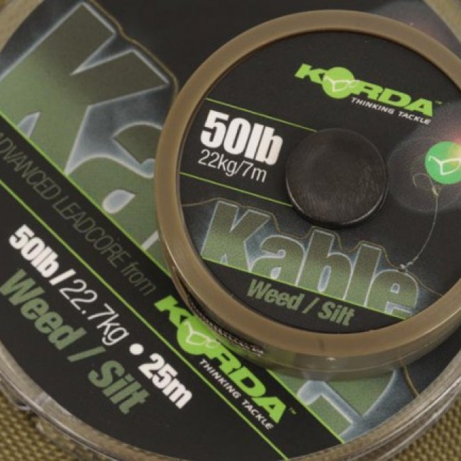 Ледкор KORDA Kable leadcore 7 m | www.CARPMOJO.com