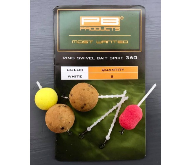 Фиксатор за стръв PB Products Ring Swivel Bait Spike 360 | www.CARPMOJO.com