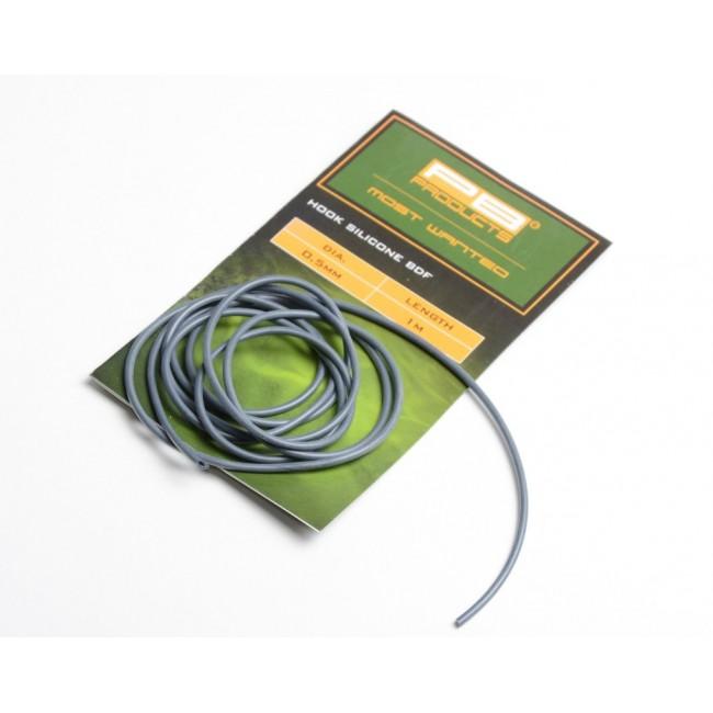 Силиконов шлаух PB Products Hook Silicone BDF, 0.5mm, 1 m | www.CARPMOJO.com