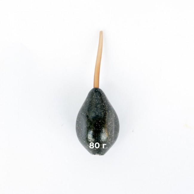 Олово тип инлайн трибомб, 80 г, гланц   www.CARPMOJO.com
