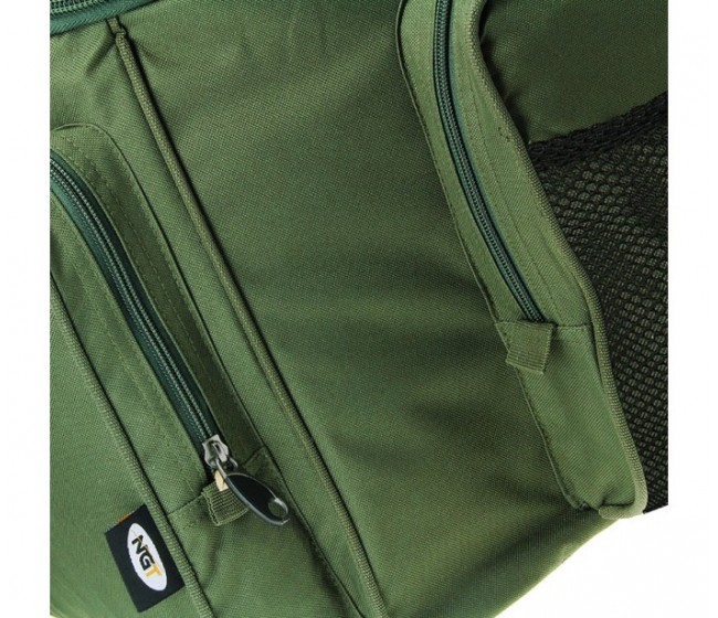 Шаранджийски сак NGT GIANT GREEN INSULATED CARRYALL 709-L | www.CARPMOJO.com