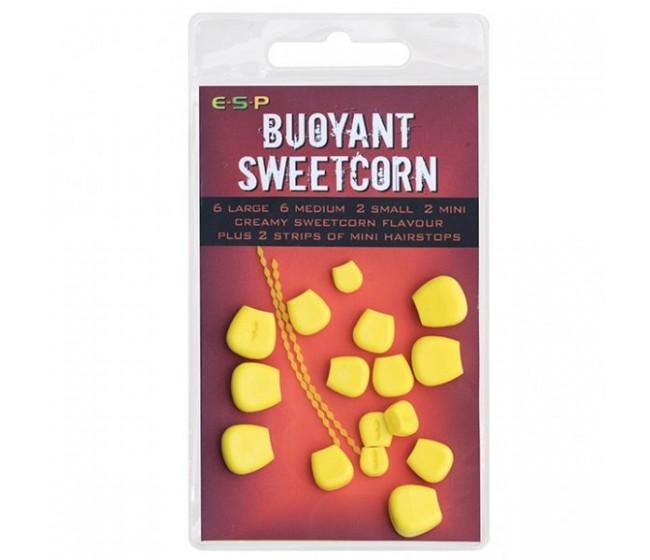 Силиконова царевица ESP - Buoyant Sweetcorn, 18 броя SMALL | www.CARPMOJO.com