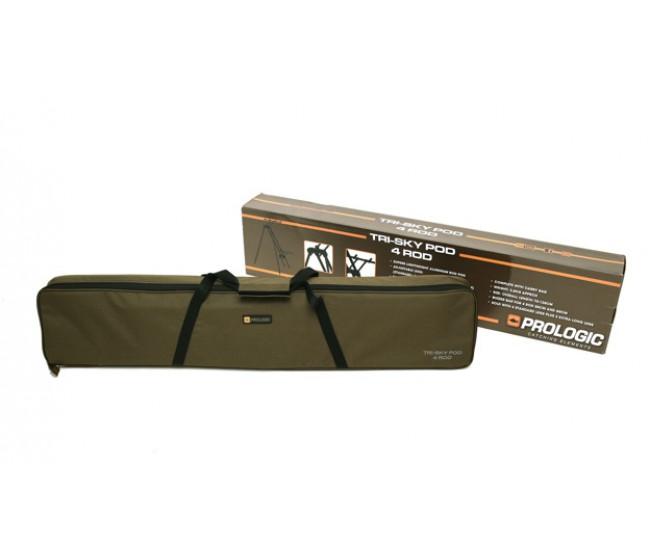 Шаранджийска стойка Prologic Tri-Sky за 3 или 4 въдици | www.CARPMOJO.com