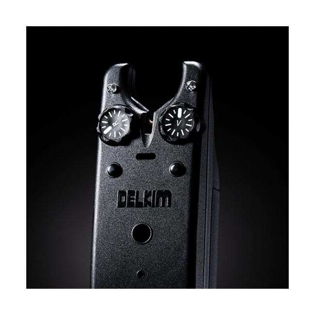 Сигнализатори 4+1 DELKIM TXI-D + RX-D централа | www.CARPMOJO.com