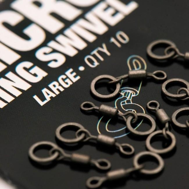 Микро вирбел KORDA Micro Rig Ring Swivels - Medium | www.CARPMOJO.com