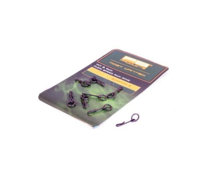 Вирбел PB Products Flexi Speed Run Ring, 8 бр. | www.CARPMOJO.com