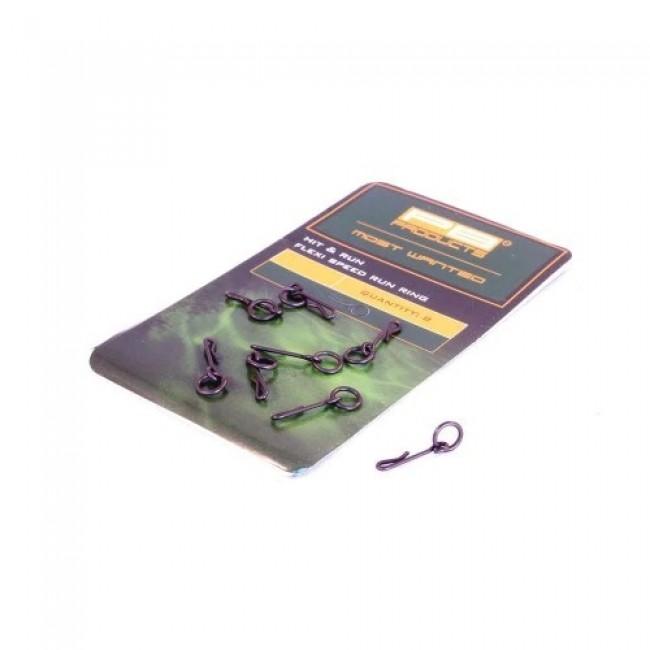 Вирбел PB Products Flexi Speed Run Ring, 8 бр.   www.CARPMOJO.com