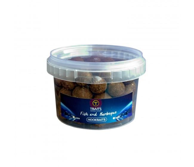 Топчета за стръв T-BAITS Fish and Barbeque, микс 14/20 mm | www.CARPMOJO.com