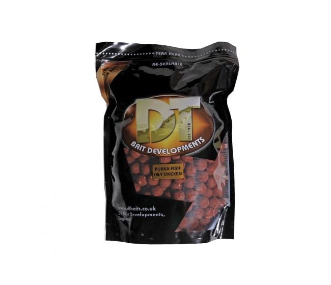 Протеинови топчета DT BAIT Pukka Fish Oily Chicken | www.CARPMOJO.com