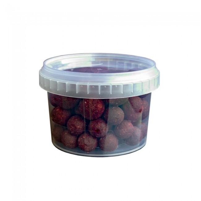 Топчета за стръв T-BAITS Squid and Strawberry, микс 14/20 mm | www.CARPMOJO.com