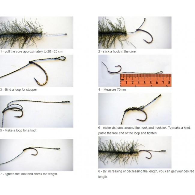 Плетено влакно за монтажи KATRAN MIMICKER, 10 m   www.CARPMOJO.com