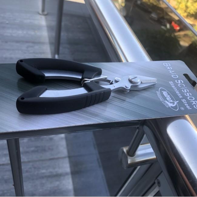 Ножица за плетено влакно KATRAN | www.CARPMOJO.com