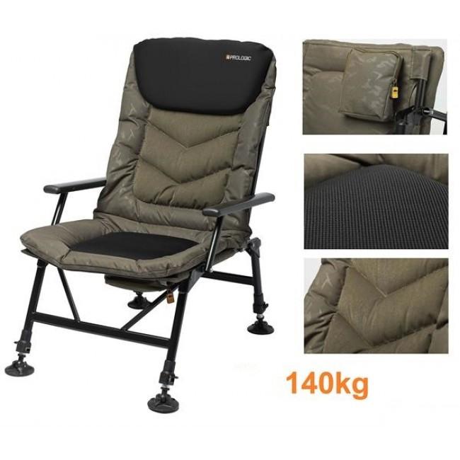Шаранджийски стол Prologic Commander Relax Chair | www.CARPMOJO.com