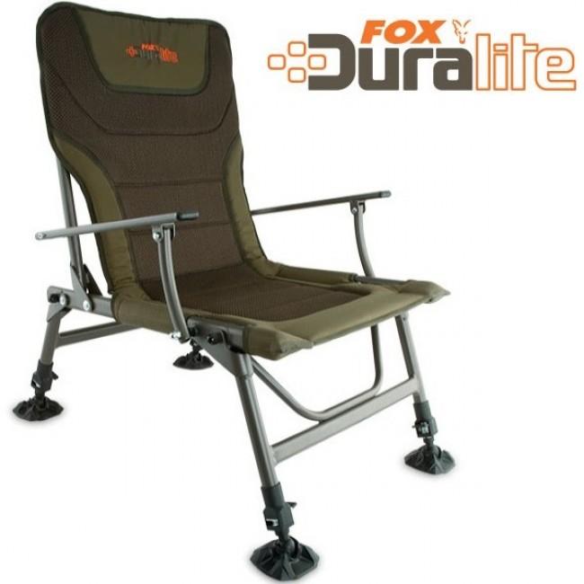 Шаранджийски стол FOX Duralite chair | www.CARPMOJO.com