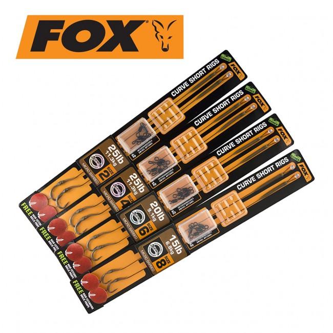 Готови монтажи FOX, 2 броя в опаковка | www.CARPMOJO.com