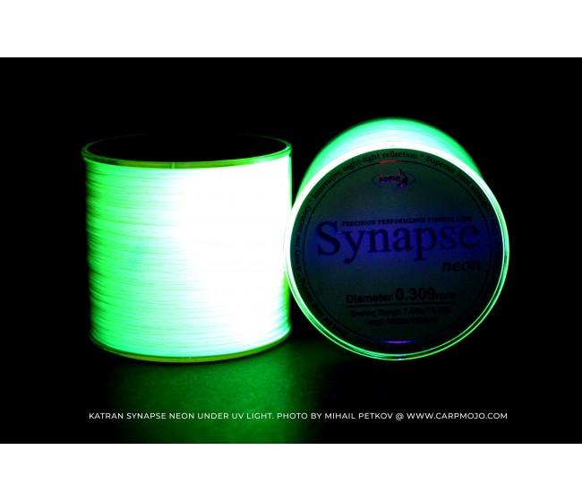 Монофилно основно влакно KATRAN SYNAPSE NEON | www.CARPMOJO.com
